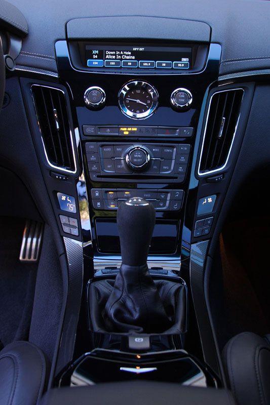 2009 cts-v interior