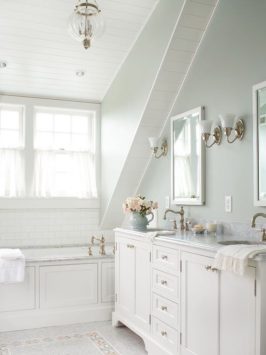 2387 best bhg 39 s colorful ideas images on pinterest homes for I want to design my own bathroom