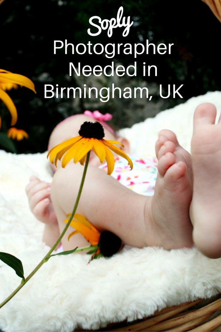 Family photographer needed for a baby shower in Birmingham, UK on August 20th for 1-2 hours. Speak to the client about the party via the pin!