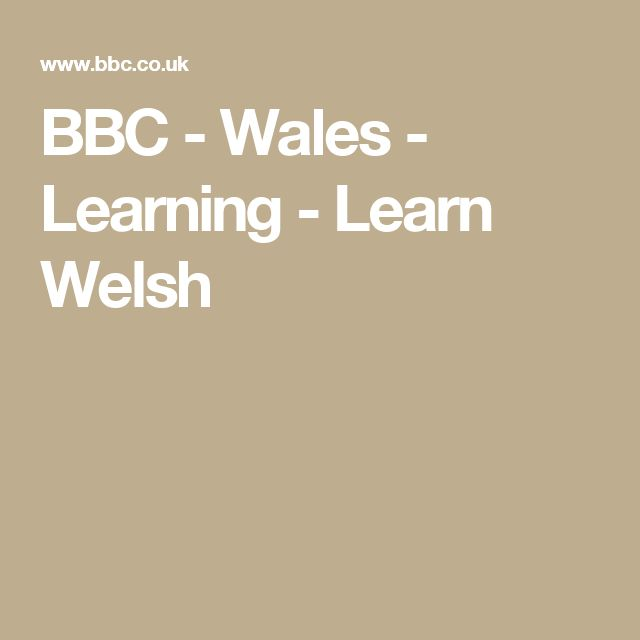 The School Of British Accents — Learn The Welsh Accent