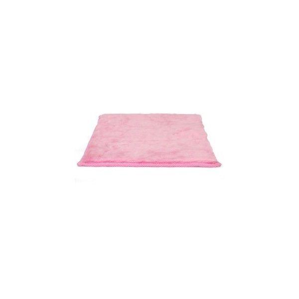 Lockerlookz Pink Plush Faux Fur Locker Rug ($13) ❤ Liked On Polyvore  Featuring Home