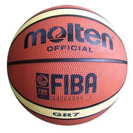 Balón basketball 7 Molten naranja. MVG Sport.
