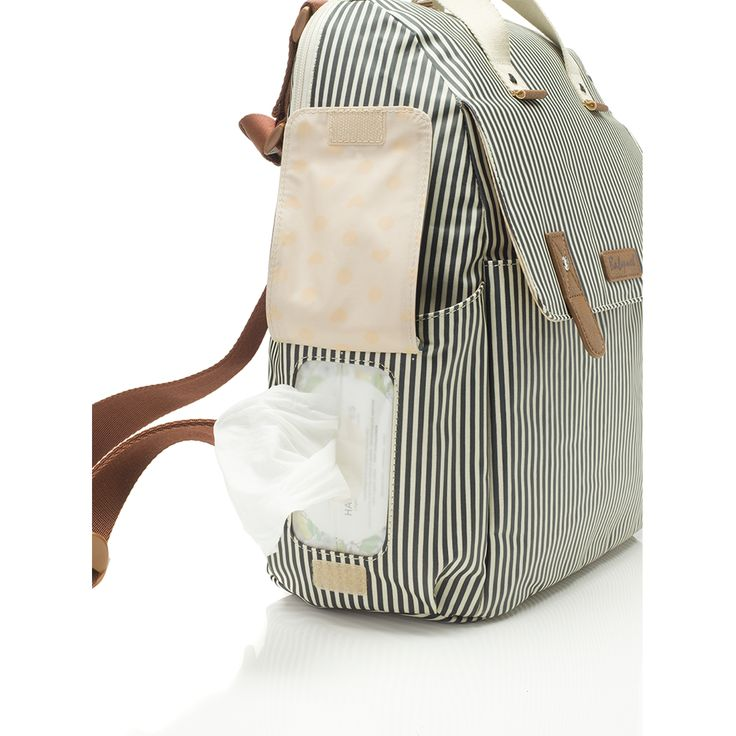 Where style meets function, you'll find the Robyn Diaper Bag. We especially love that you can easily convert it from a backpack diaper bag to an over-the-shoulder bag, just by releasing the straps. De