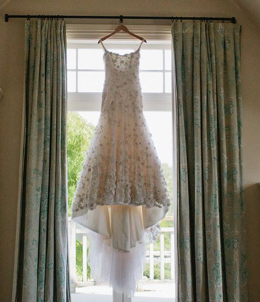 Exquisite hand-beaded French lace wedding dress by annaschimmel.co.nz  #wedding #lace #beaded