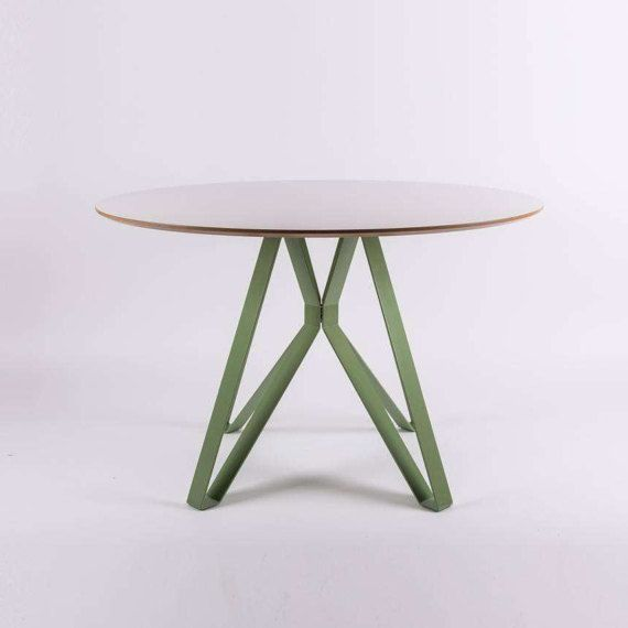 Dining Table ALAMIN  big round / circle by SparkCraftWorkshop