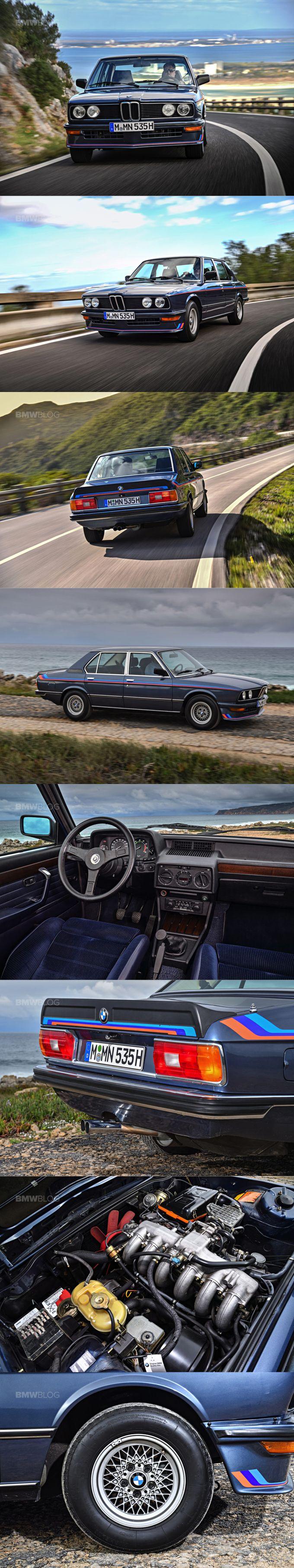 1980 BMW M535i / Motorsport /Germany / blue red / E12 / 17-320