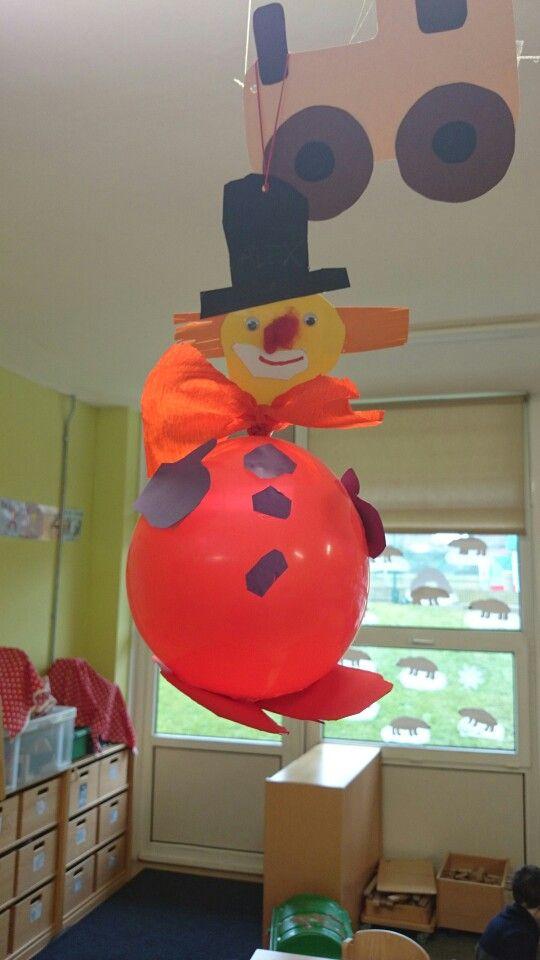 Clown balloon karneval