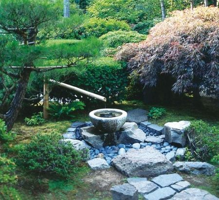 Японский сад. Малая архитектура
