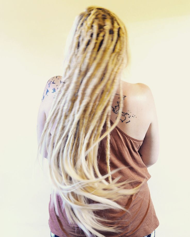 Dreadlocks are so much fun so make sure to enjoy them! Have a great Saturday!