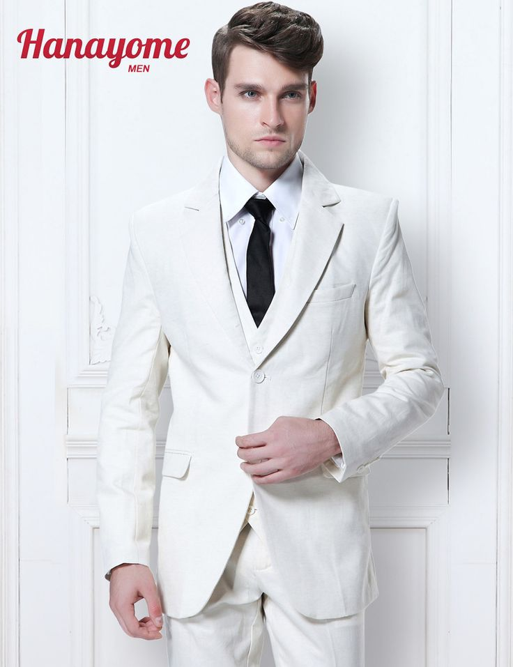 >> Click to Buy << White Wedding Suits For Groom Chinese Tunic Suit White Tuxedo Jacket Prom Tuxedos Men's Business Long Pants Suits D306 #Affiliate