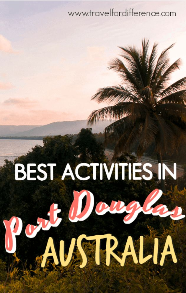 Here is a list of the best activities to do in Port Douglas, Australia! #Australia #Queensland #PortDouglas #TropicalNorth
