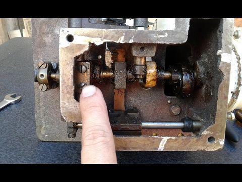 Ajuste de la overlock casera ( TIEMPOS, ENLACES, GRADUAR ) - YouTube