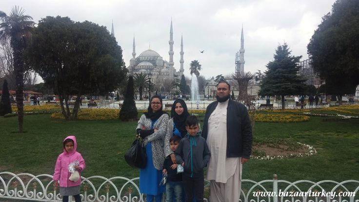 Islamic Tour packages and Ziyarats in Istanbul for Muslims.  A Nice family from UK joined our Islamic Tours. - November 2016 / Sultanahmet Istanbul