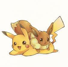 Pikachu and Eevee~