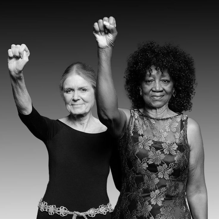Gloria Steinem & Dorothy Pitman-Hughes' Restaging Of Iconic Portrait Shows That Activism Has No Age