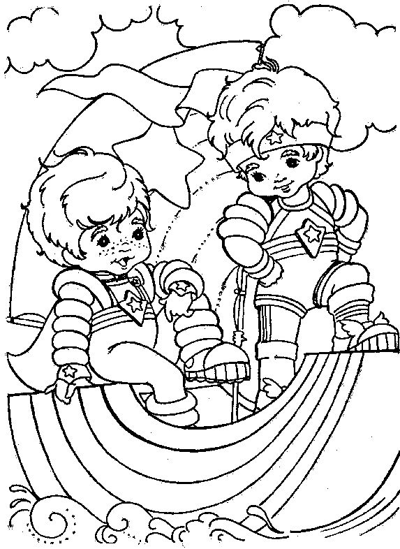 135 best Rainbow Brite Coloring Pages images on Pinterest Rainbow - new coloring pages for rescue bots
