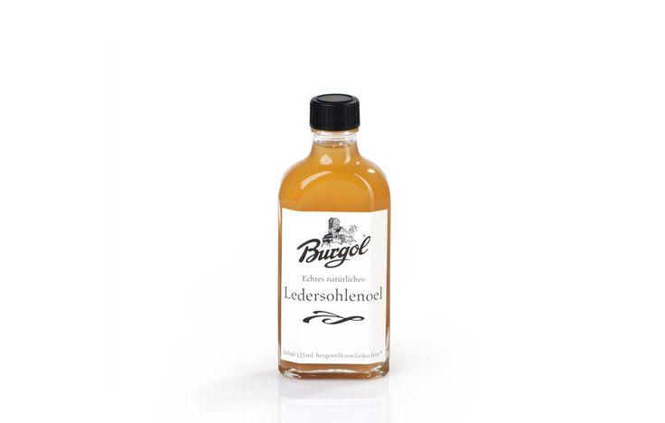 Ledersohlenöl von Burgol auf SHOEPASSION.com