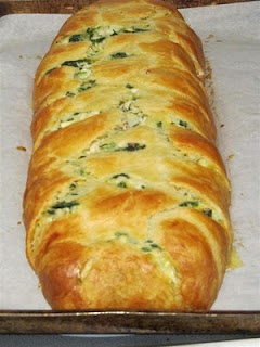 Spinach Crescent Wrap