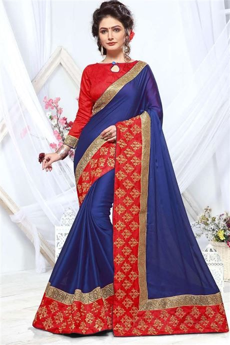 Wholesale Designer Functional Wear Chiffon Saree Cataloge