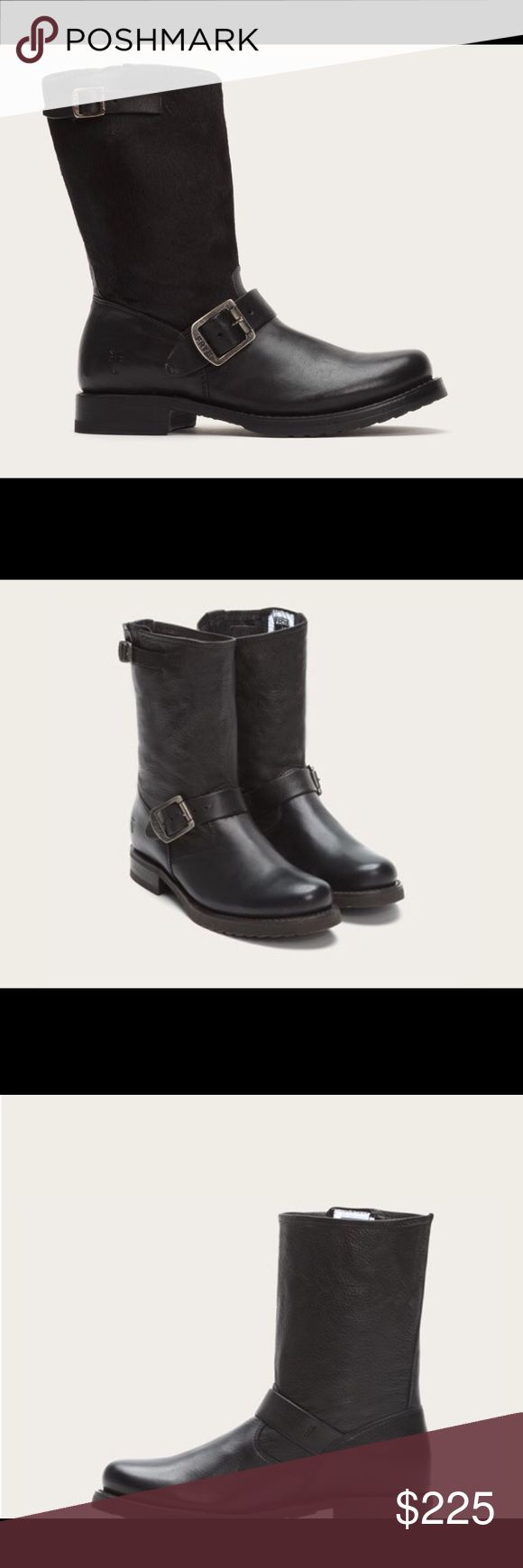 FRYE VERONICA SHORT BOOTS These boots are super cool and edgy.  Unfortunately, I'm not!!!!  Excellent condition at a great price for this quality! Frye Shoes Ankle Boots & Booties
