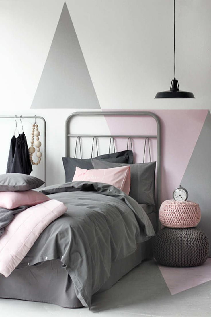 Geometric Wall Painting |  - Tinyme Blog