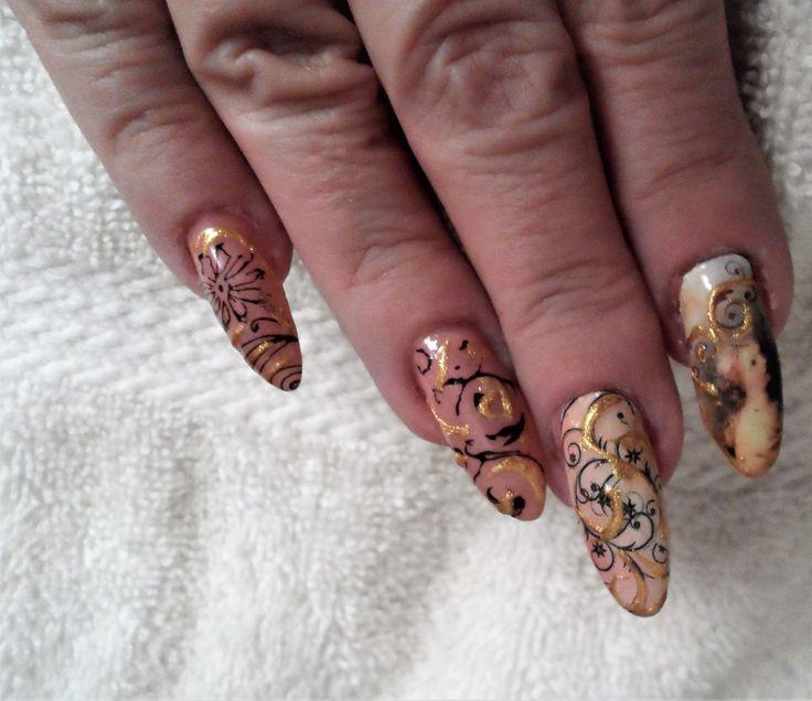 55 best Vanilla Nail Art USA images on Pinterest | Nail arts, Nail ...