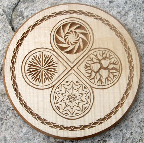 Chip Carving Patterns - WoodWorking Projects & Plans