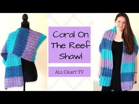 Crochet Easy Beautiful Shawl/Blanket/Scarf Using V stitch(Super Easy