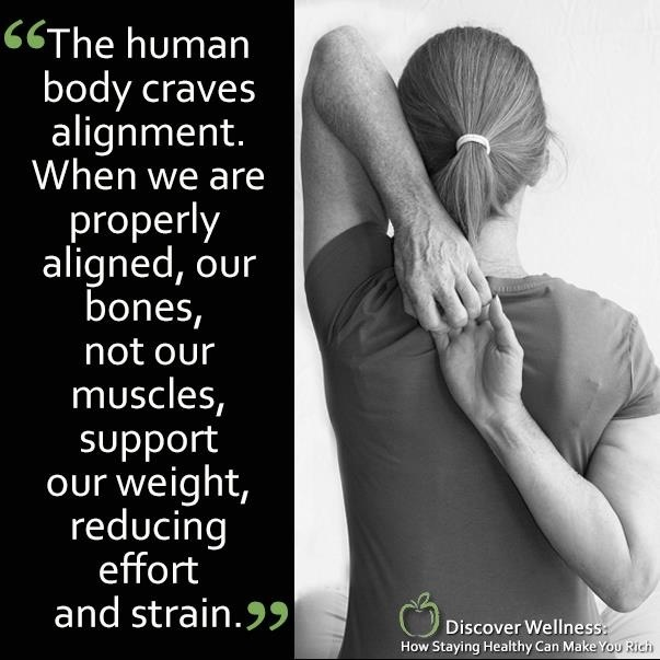 skeletal alignment, note left arm over                                                                                                                                                                                 More