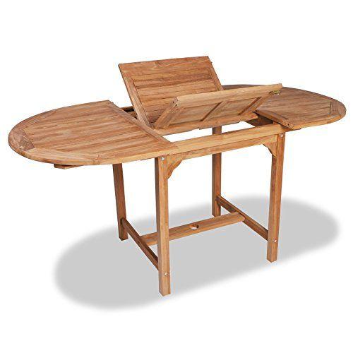 Vidaxl table de salle à manger dextérieur extensible en https