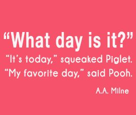 My favorite day!