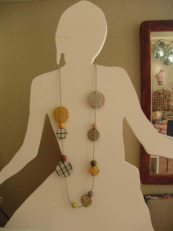 """Ανοιξιάτικο Κολιέ """"Fullmoon"""" / Necklace """"Fullmoon"""" / Spring Jewelry / Spring Necklace"""