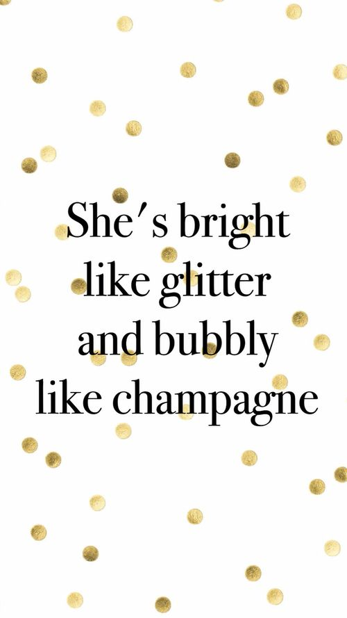 Champagne helps!  Bring on bubbles and sparkles *my diet coke lighter side*                                                                                                                                                                                 More