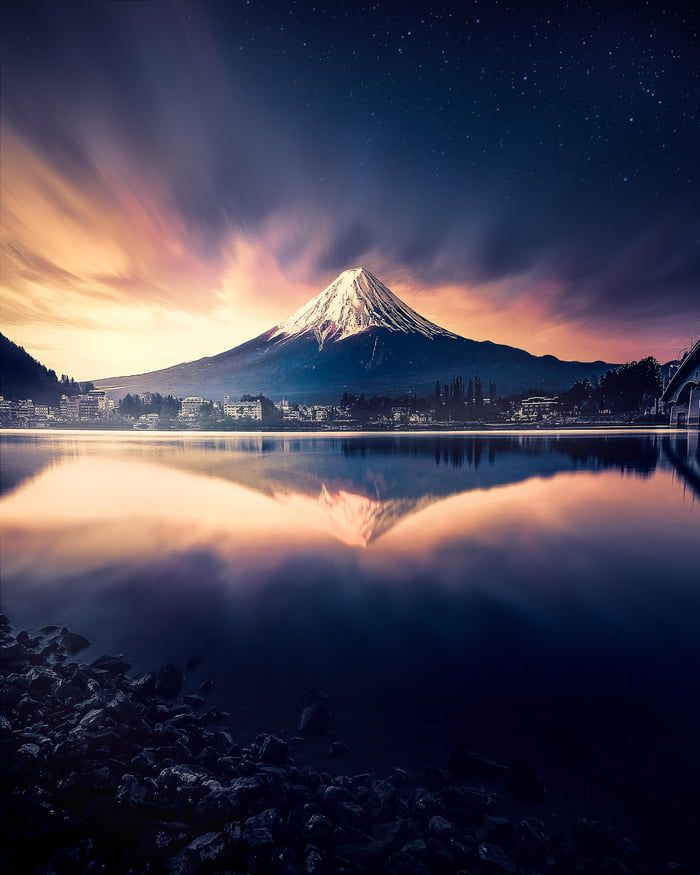 One of the best photography of the Mount Fuji – Japan (by Grafixart_photo)
