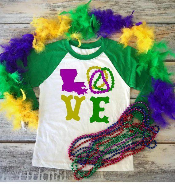 Mardi Gras Shirt, Mardi Gras, Mardi Gras Raglan, For Mardi Gras, Mardi Gras Parade, Mardi Gras Wear, Adult Shirts, Purple, Lousiana