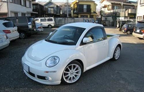 Japanese Body Shop Creates New Beetle Pickup