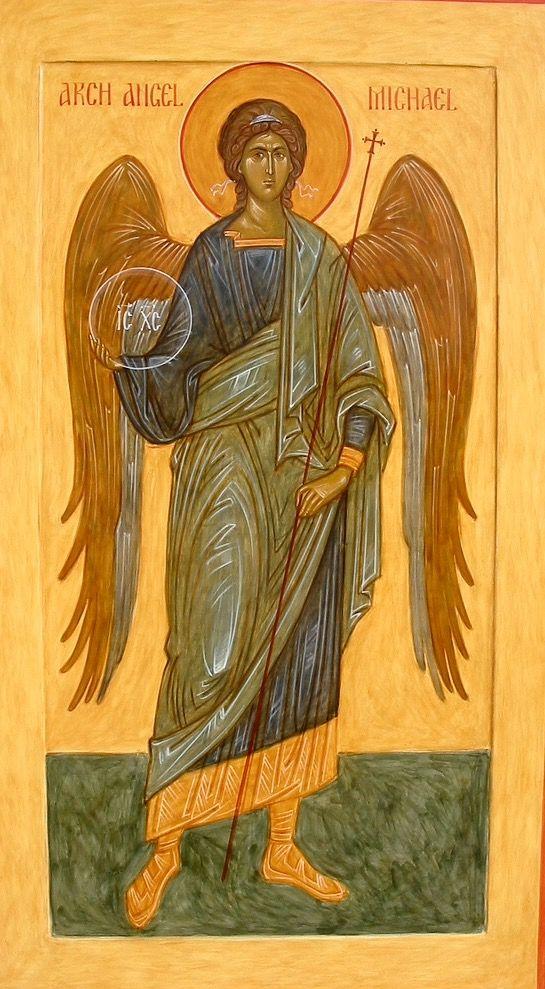 Archangel Michael by Ann Margitich