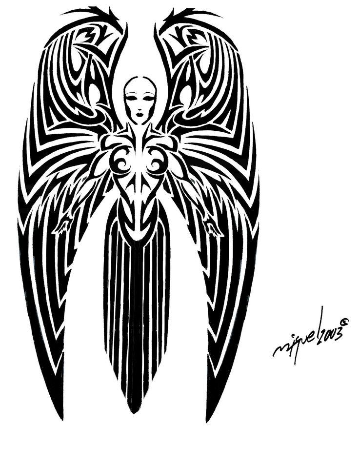 [[Angel Tattoos| Angel tattoo