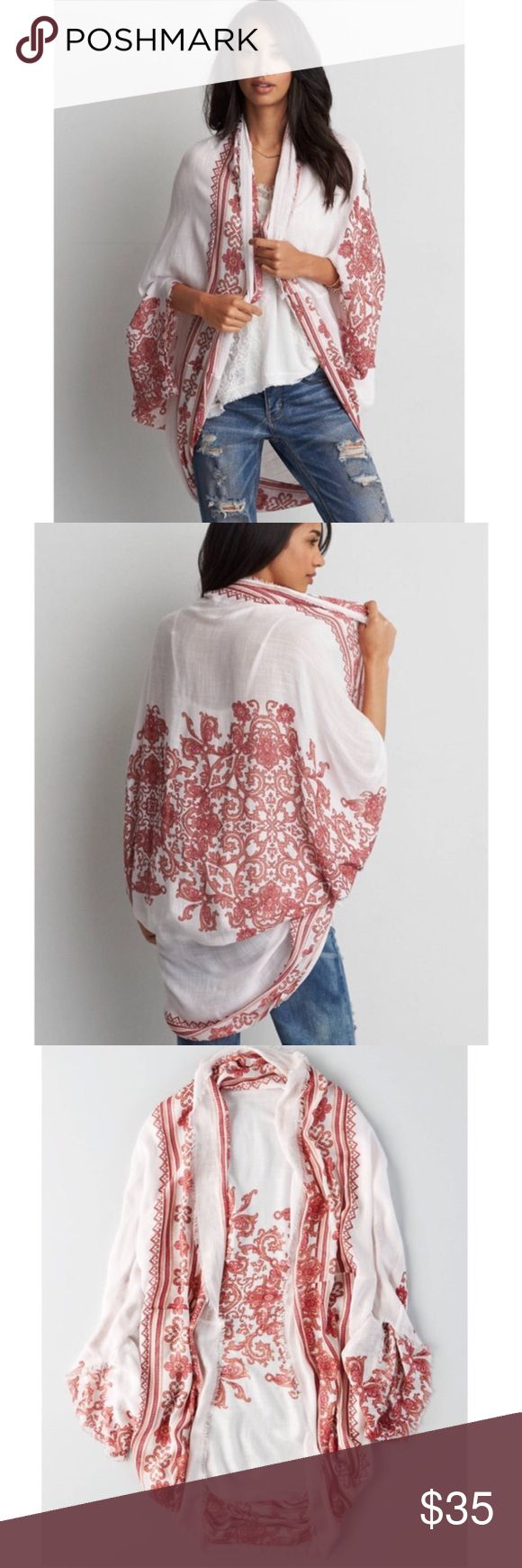 Spotted while shopping on Poshmark: American Eagle Kimono! #poshmark #fashion #shopping #style #American Eagle Outfitters #Tops