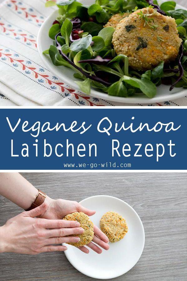 Bolinhos de quinoa crocantes com cenouras (vegan)