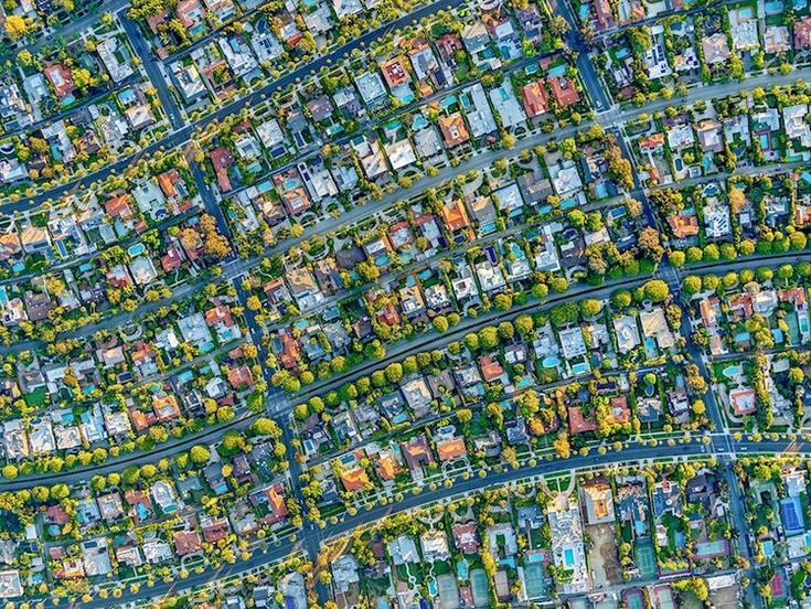 Aerial Photography of LA,  by Jeffrey Milstein