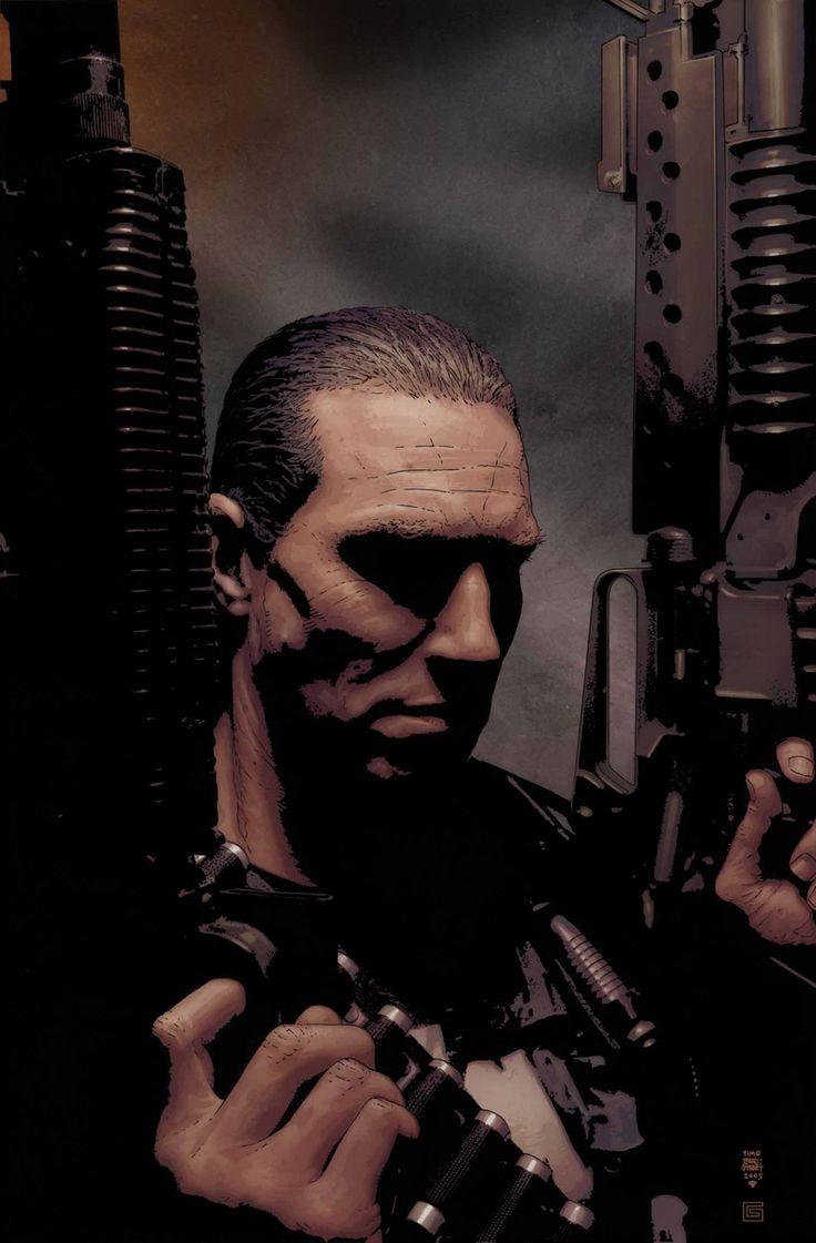 Punisher By Tim Bradstreet Punisher Punisher Marvel Punisher 2004