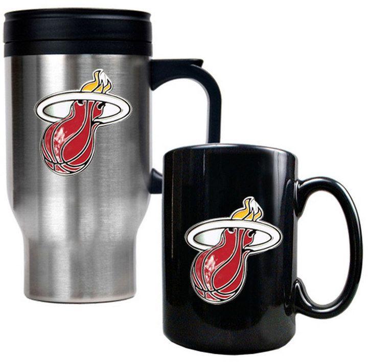 Kohl's Miami Heat 2-pc. Mug Set