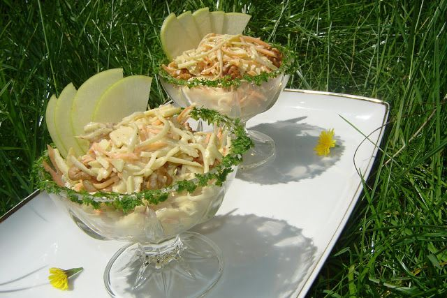 In bucatarie la Janet: Salata festiva de cruditati
