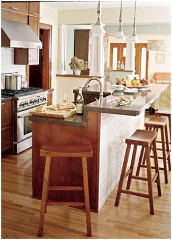Kitchen Island Knee Wall kitchen island knee wall ~ image furniture inspiration, interior