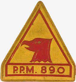 Pelotão de Policia Militar 890 da Companhia de Policia Militar 497 Angola 1963/1965