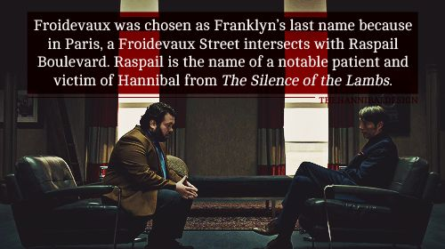 Hannibal book/show connections. I love how they're changing the books as they bring them to TV. It's not often I can say that.