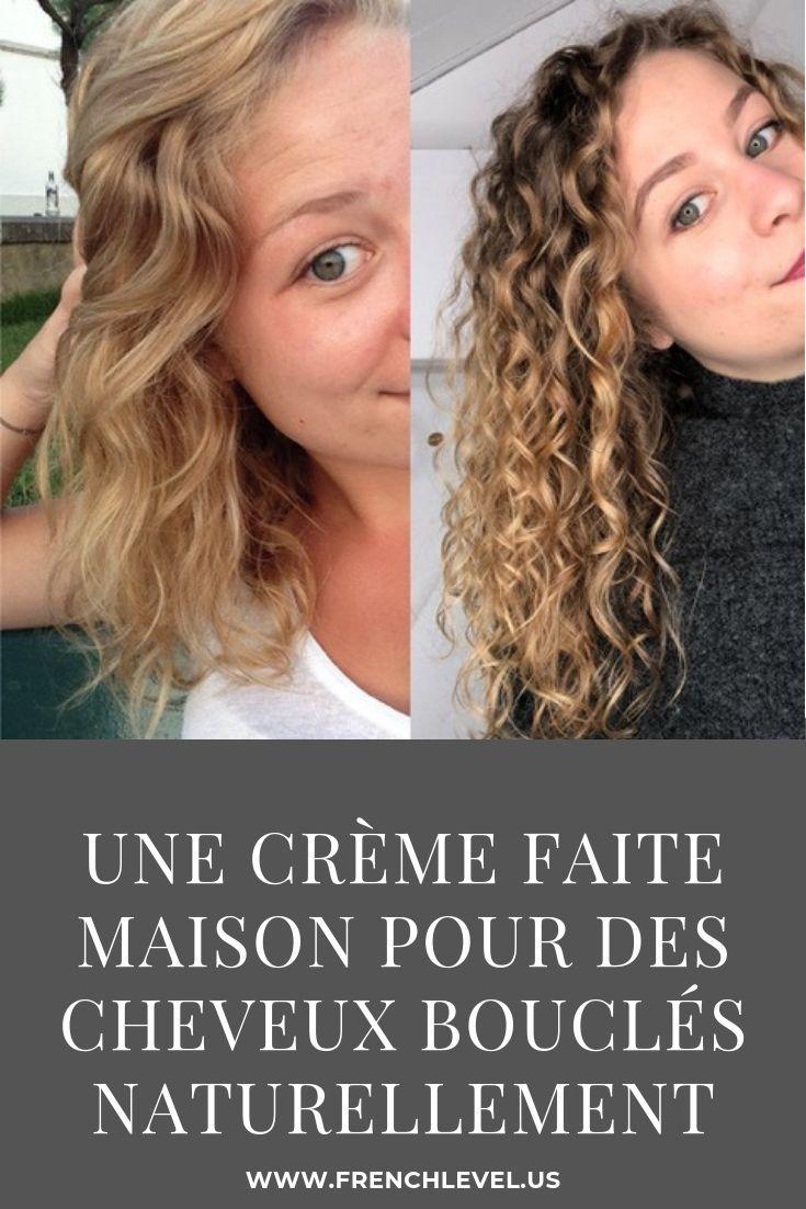Une crème faite maison pour des cheveux bouclés naturellement – La femme idéa…