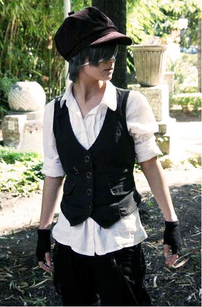 Ciel Phantomhive Casual by LauraNikoPhantomhive.deviantart.com on @deviantART - Please come and be cute in my bed!!!!!