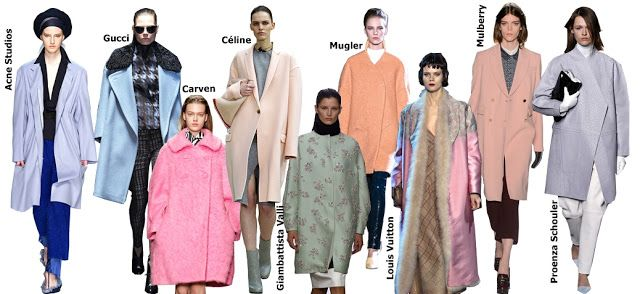 Very very sweet candy coats, which we need to wear during cold days. Pastel color like baby blue, buttercup yellow, lavender and powder pink.